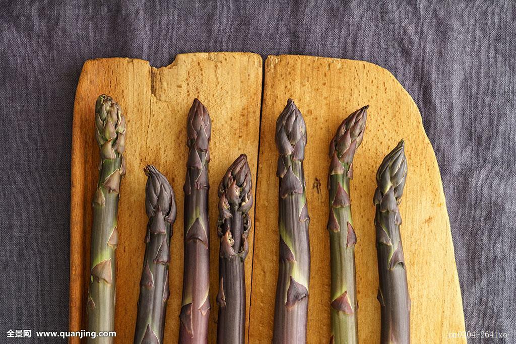 食物,食粮,木头,老式,紫色,蔬菜,生食,俯视图,芦笋,亚麻布,木板,乡村图片