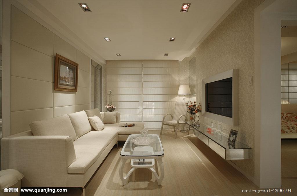 水平构图,客厅,时尚,整洁,彩色图片,装饰,装修,摄影,无人,式样,住宅图片