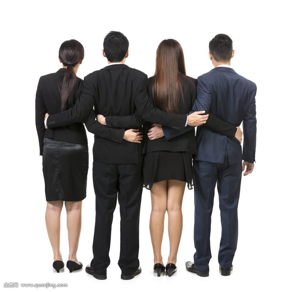 商务,人,团队,白色,隔绝,背景,职业,交际,高兴,创业人,成功,微笑图片