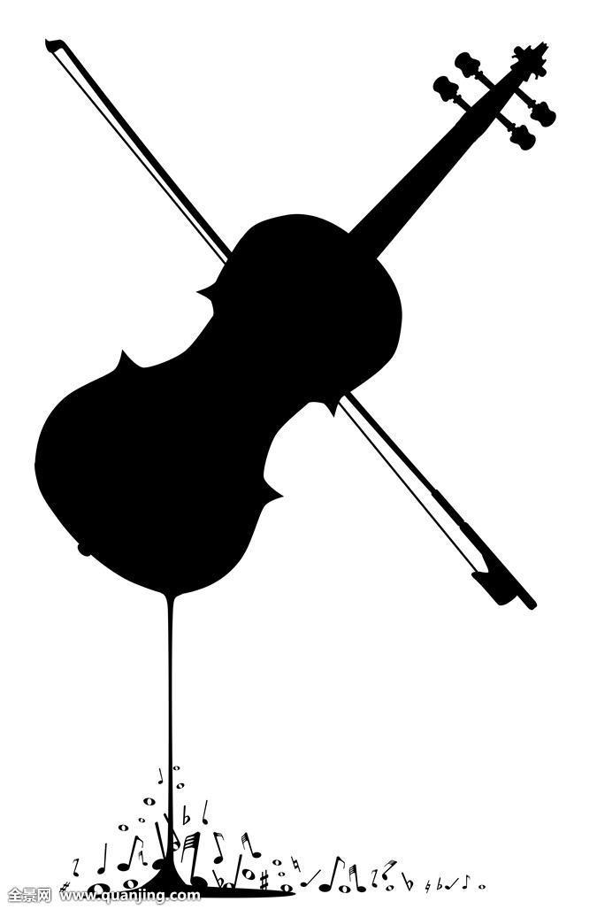 音乐,艺术,乐器,海报,插画,古典,绘画,照片,图片,图像,小提琴,音符图片
