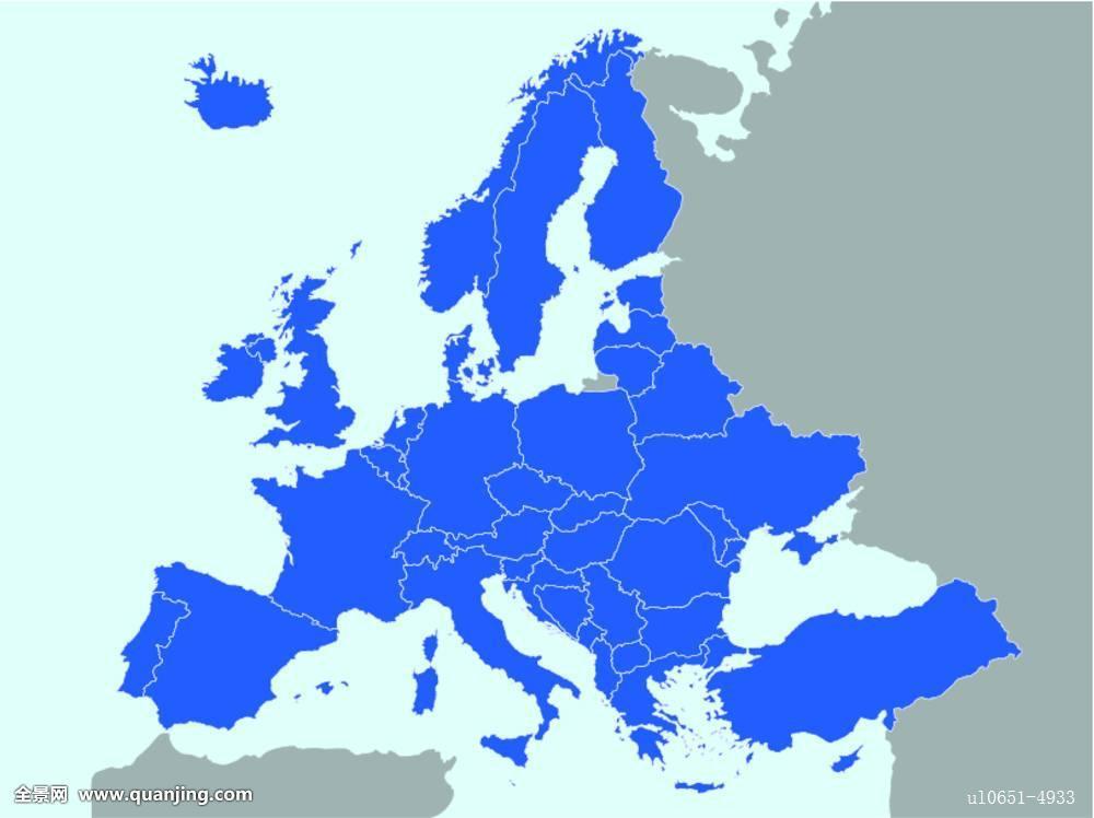 欧洲,地图图片图片
