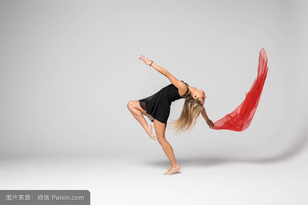 舞蹈_体操舞者�