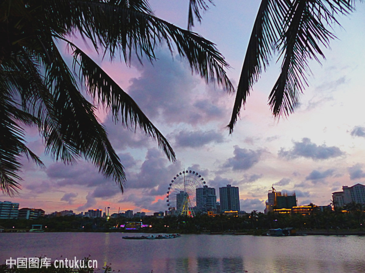 广东,海滨公园,湛江,霞山区图片