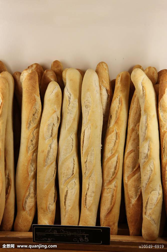 法棍面包,法式面包,店