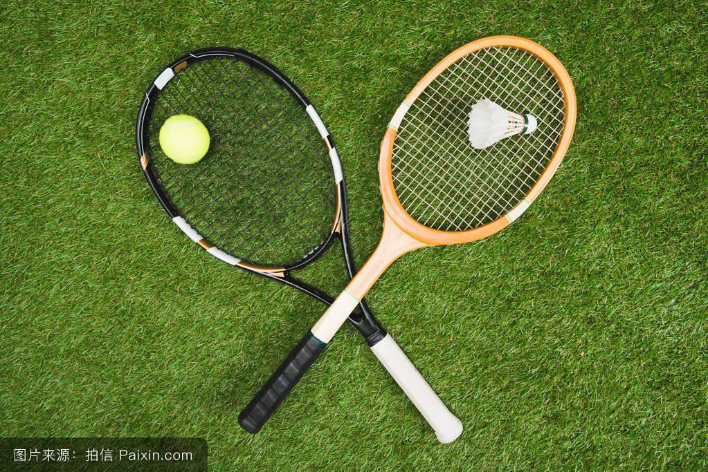 网球和羽毛球设备图片