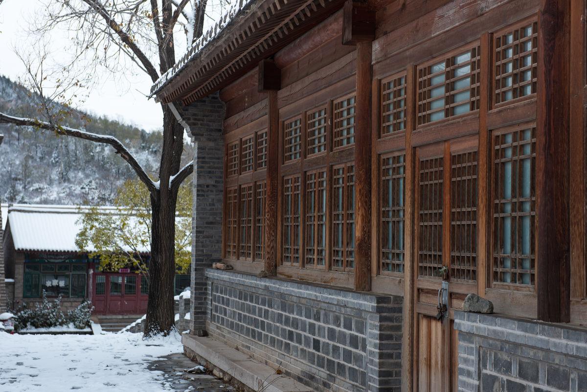 北京,延庆,风景,旅游,中国,建筑,复古,古城,古典,中式建筑,格栅图片