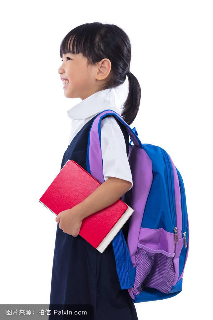 有读写能力的,背景,美丽的,书包,分离,学生,童年,学校,幸福的,人类图片