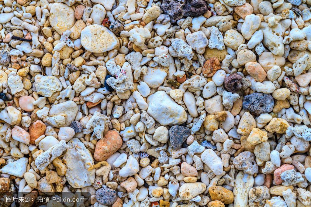 亚洲色囹il�(���_五颜六色的珊瑚砂,ilig伊利甘海滩,长滩岛岛,菲律宾