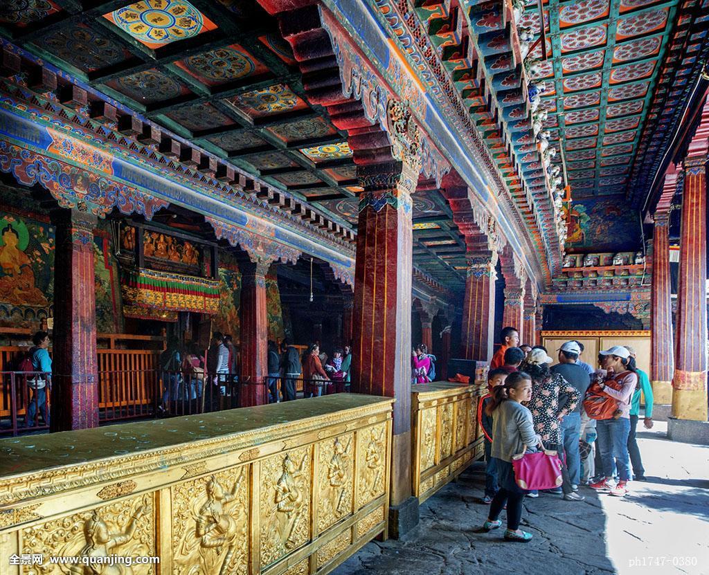 旅行,西藏旅游,照片,休闲,藏式建筑,建筑,雕花,寺庙佛教,历史,转经筒图片