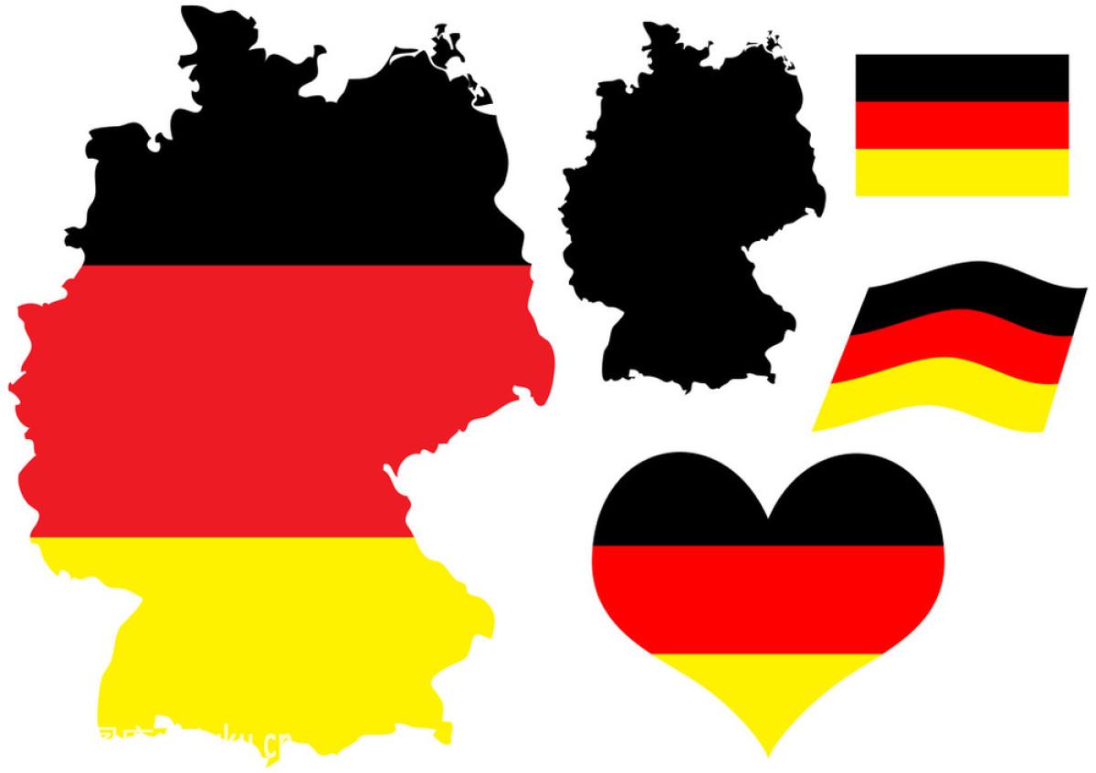 边界,标志,传统,德国,地图,孤独,绘画插图,计算机制图,陆地,轮廓,欧洲图片
