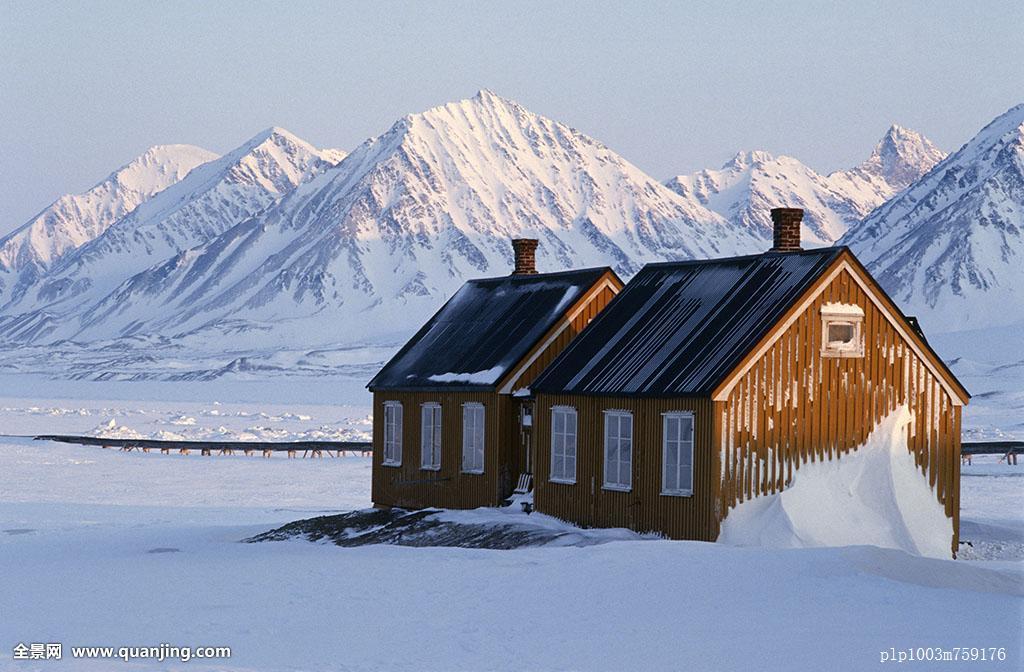 建筑,北极,凉,寒冷,欧洲,房子,风景,北欧,挪威,纽约,奥勒松,斯堪的图片