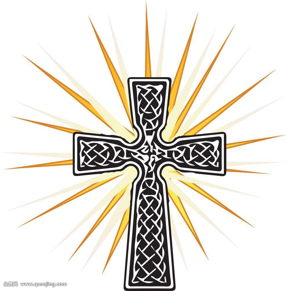 耶稣,象征,上帝,灵性,信念,耶稣十字架,神圣,黑白,形状,礼拜,旧式图片