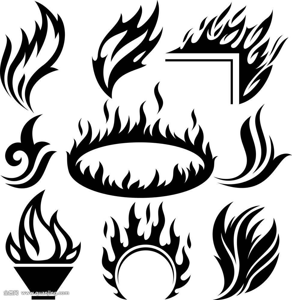 额头火焰 纹身 分享展示图片图片