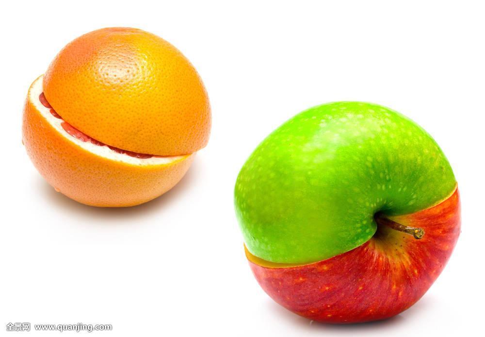 创意,苹果,柚子图片