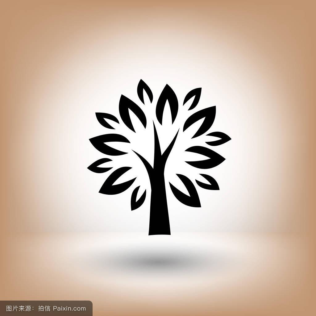 木材,植物学,有机的,茎,分支,夏天,叶,自然,象形文字,装饰性的,形状图片