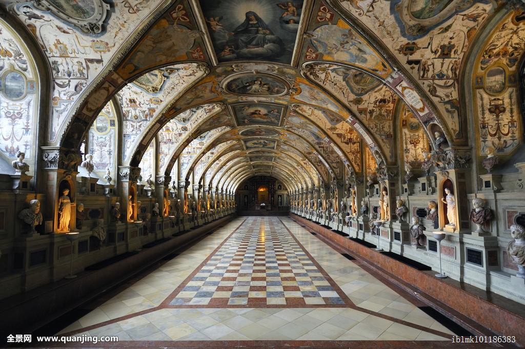 欧洲,著名,联邦,联邦德国,德国,室内,内部,华美,慕尼黑,华丽,宫殿图片