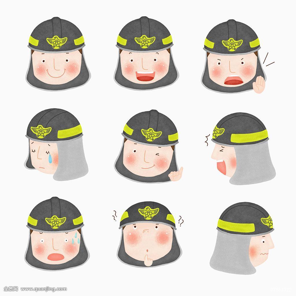 微信消防员高考加油表情包(加油图片