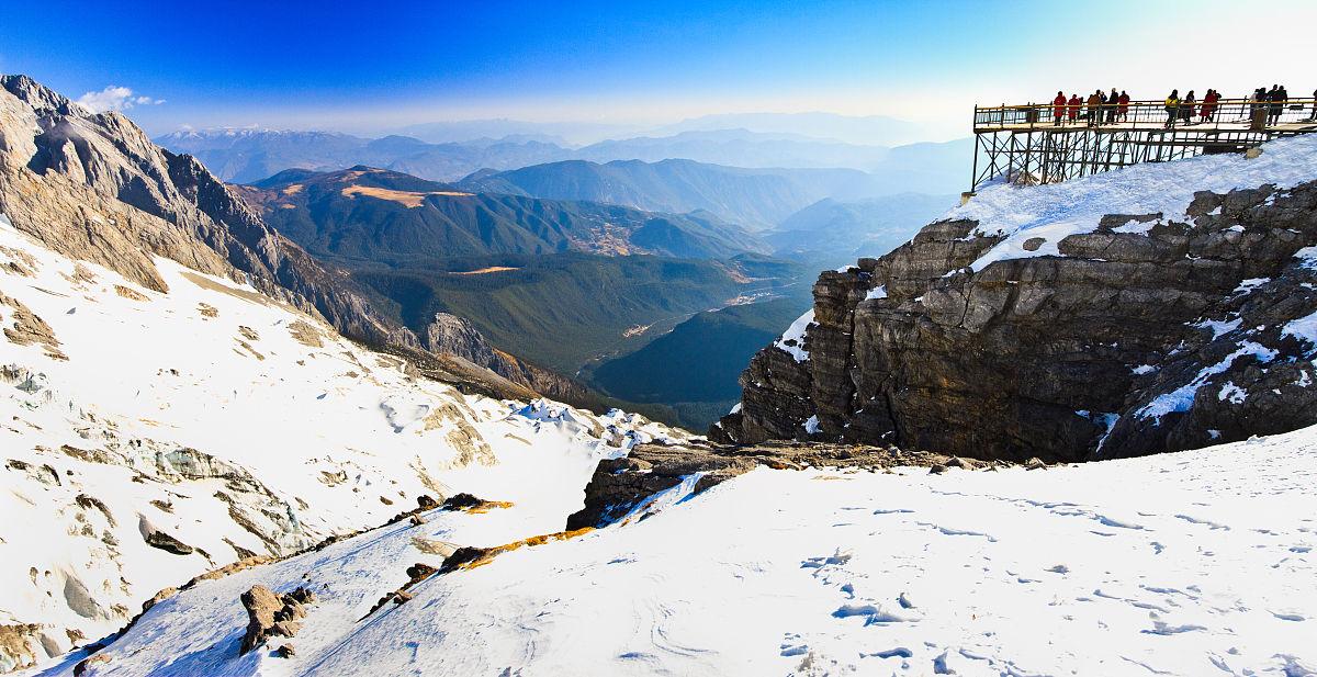 丽江古城怎么去玉龙雪山图片