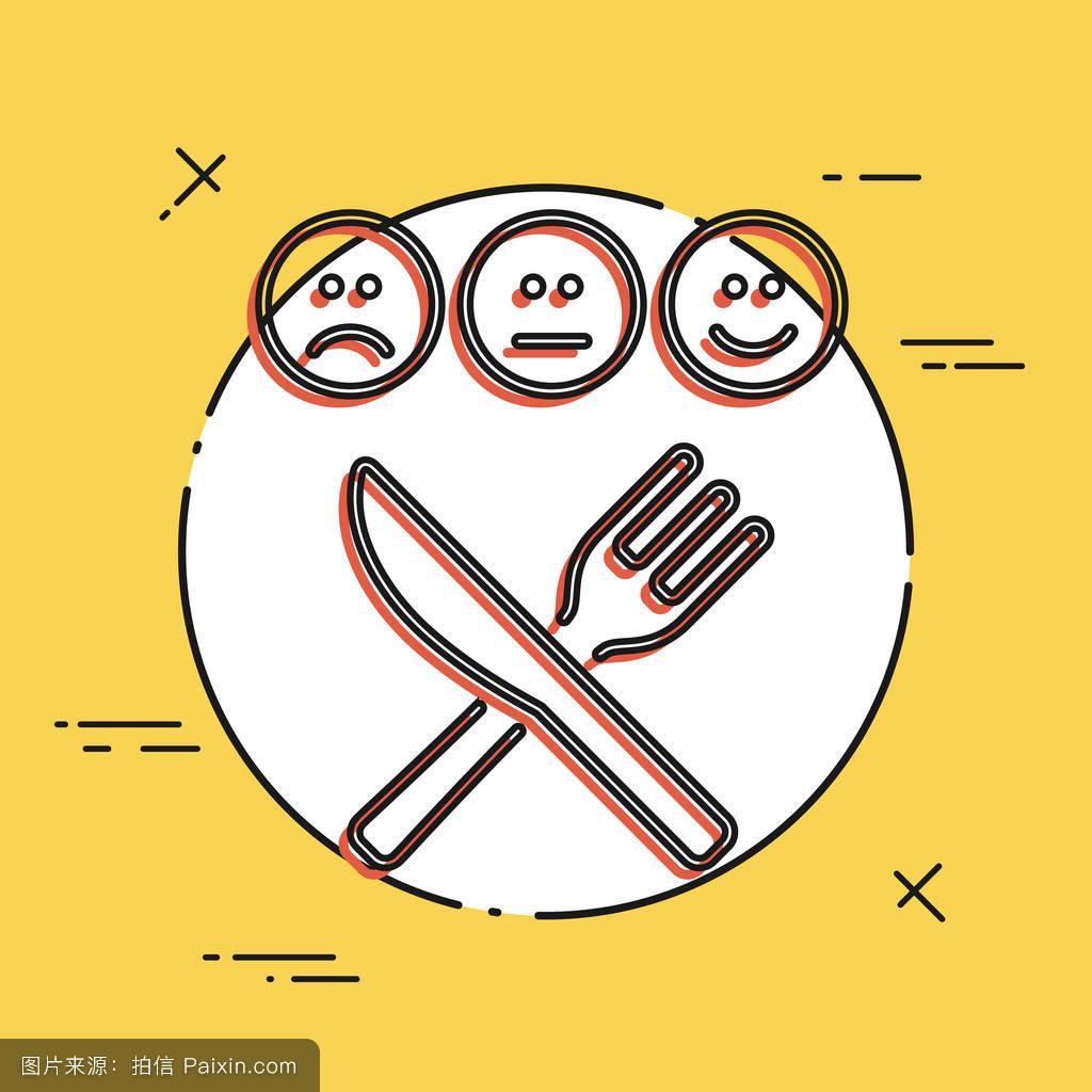 触摸,恢复,餐饮,反馈,中等的,面对,平的,线,可接受的,强调,比萨店图片
