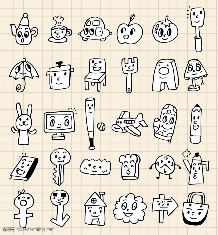 插画,儿童,厨房,长柄勺,怪兽,音乐,演奏,锅,声音,喷雾器,过滤器,茶壶图片