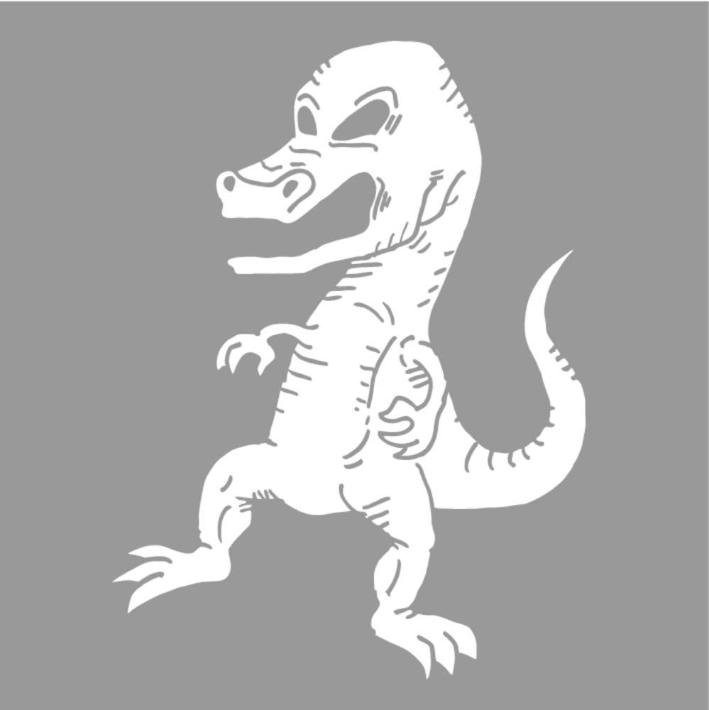 恐龙,友好,有趣,倾斜,高兴,史前,站立,滑稽,娃娃,木偶,绘画,创意,设计图片