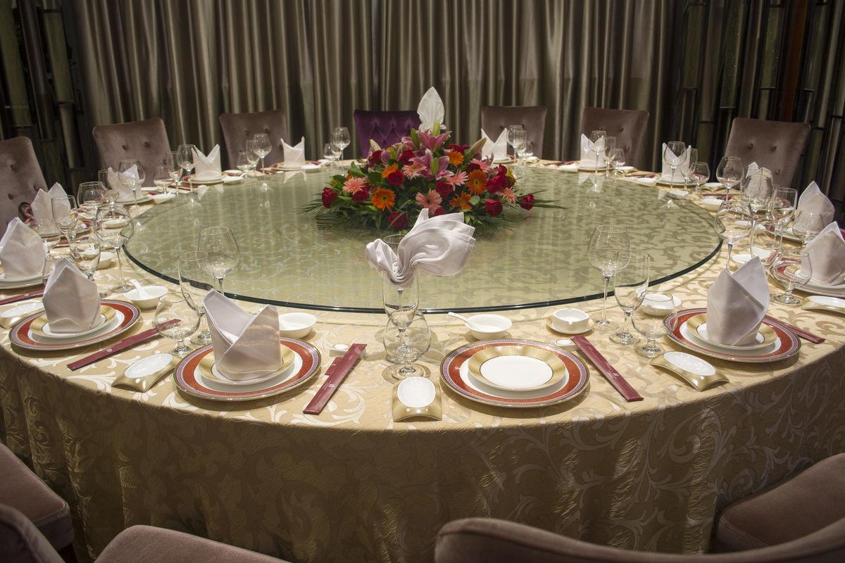 中餐,酒店中餐大厅,餐厅,摆台,宴会厅,包房,餐桌,酒五星级,vip,接待图片