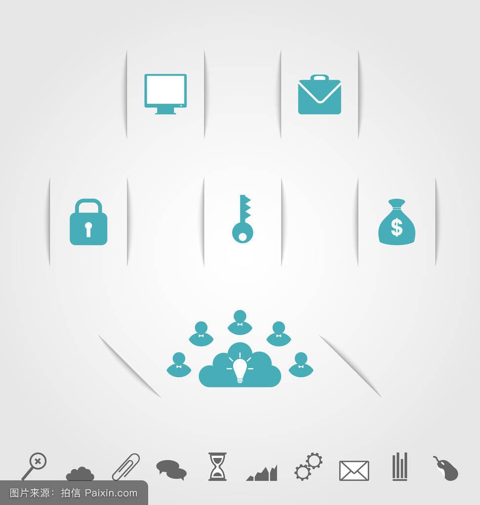 时钟,信息,地球,数据,图表,商业,桌面,应用,行业,图标,演示,pc,案例图片