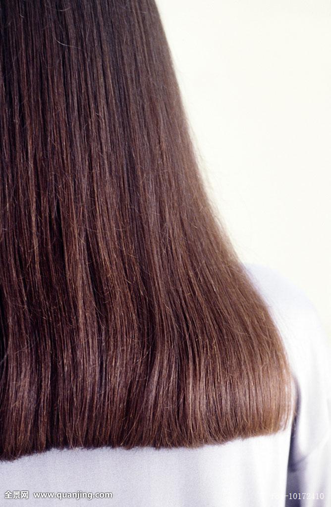黑长发直发背影图分享展示图片