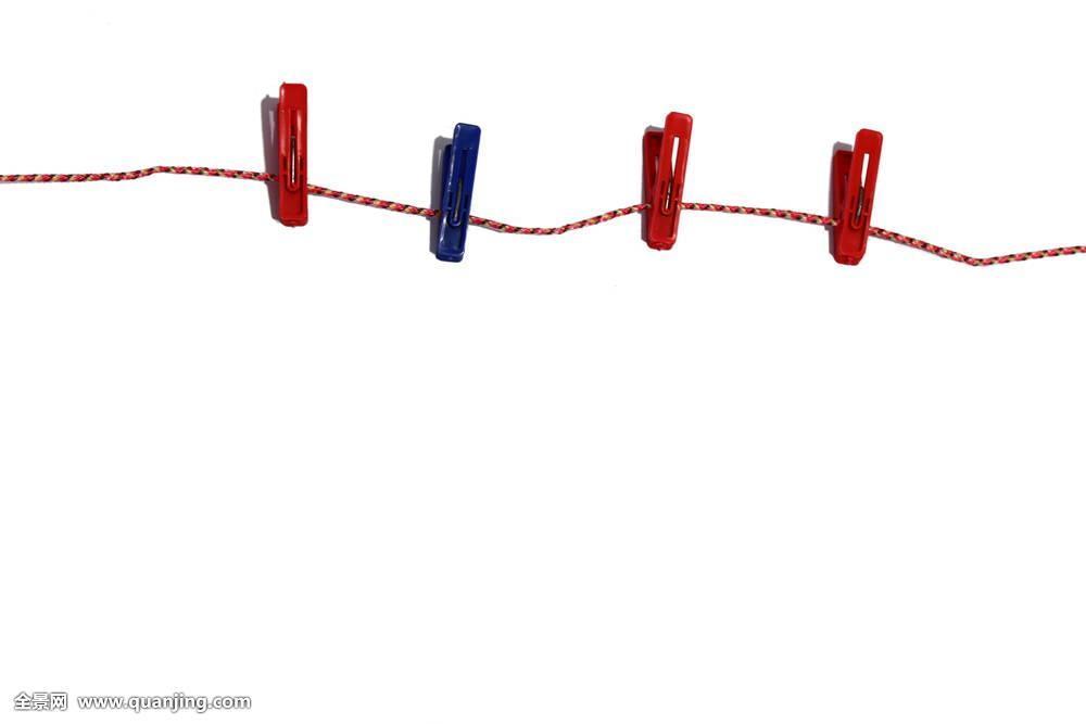 四个,夹子,绳索图片