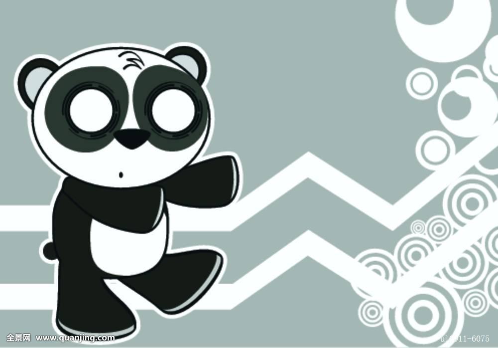 双手挠头表情包熊猫分享展示图片