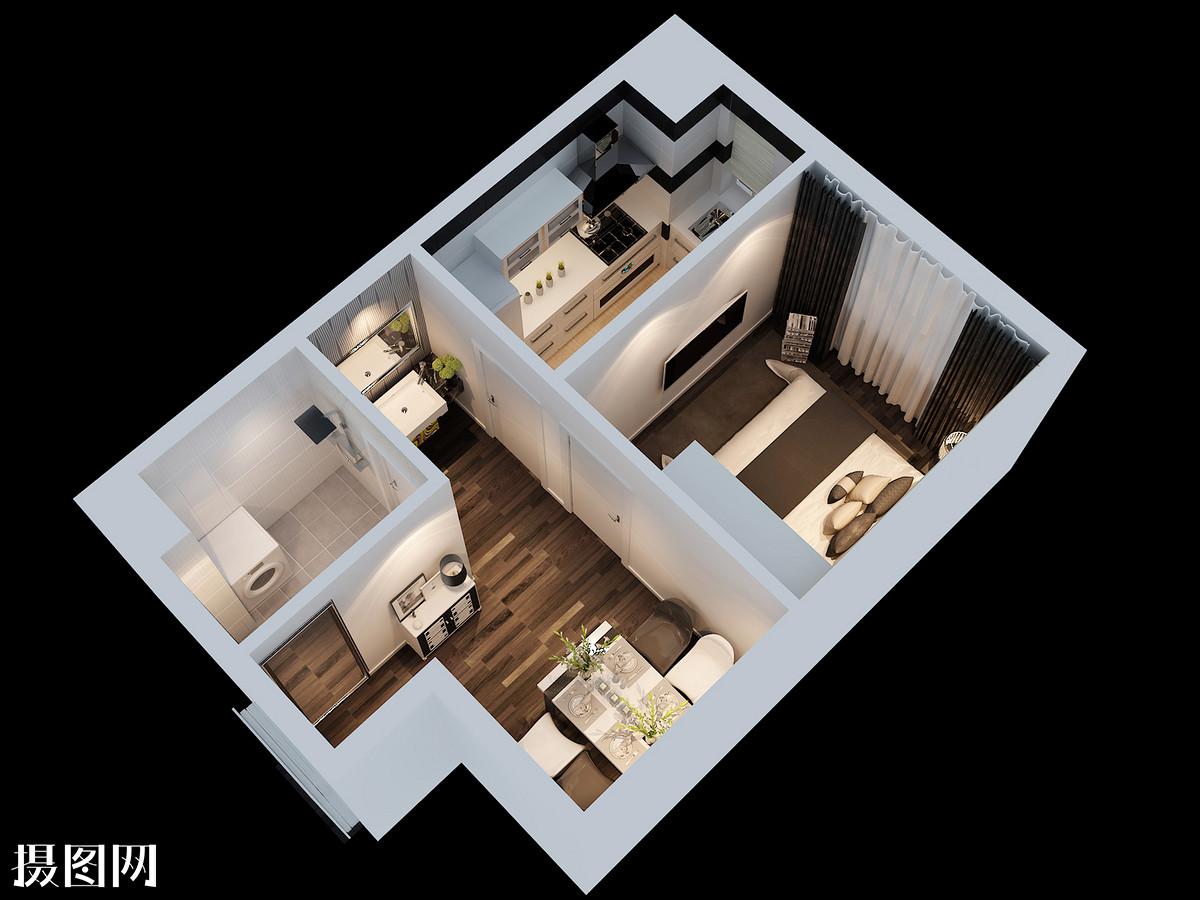 室内假山效果图设计图__景观设计_环境设计_设计图图片