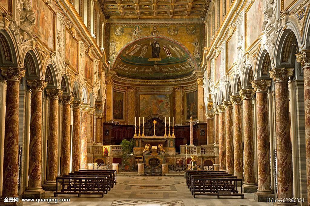 内景,圆屋顶,圣坛,大教堂,圣马科,邸宅,威尼斯,宫殿,威尼斯广场,广场图片