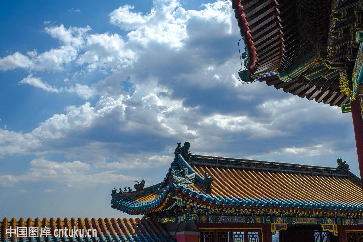 北京古建筑摄影图片