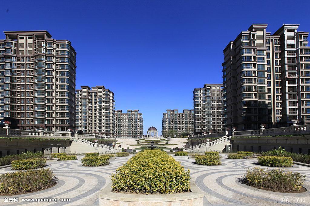 住宅小区房地产园林景观高层住宅图片
