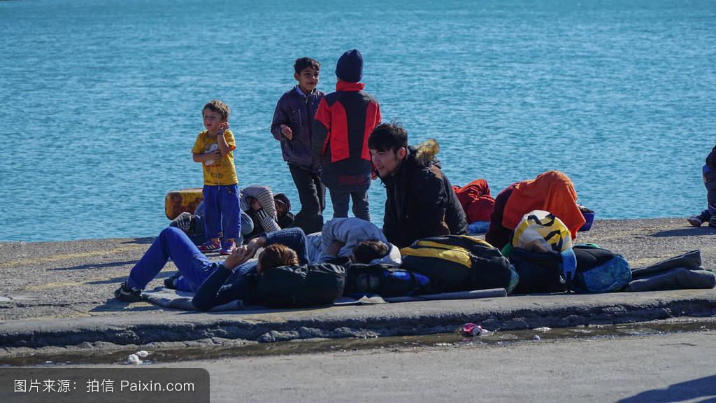非洲,贫困,欧洲的,沉船,叙利亚,无家可归,东方的,冲突,伊斯兰教,危图片