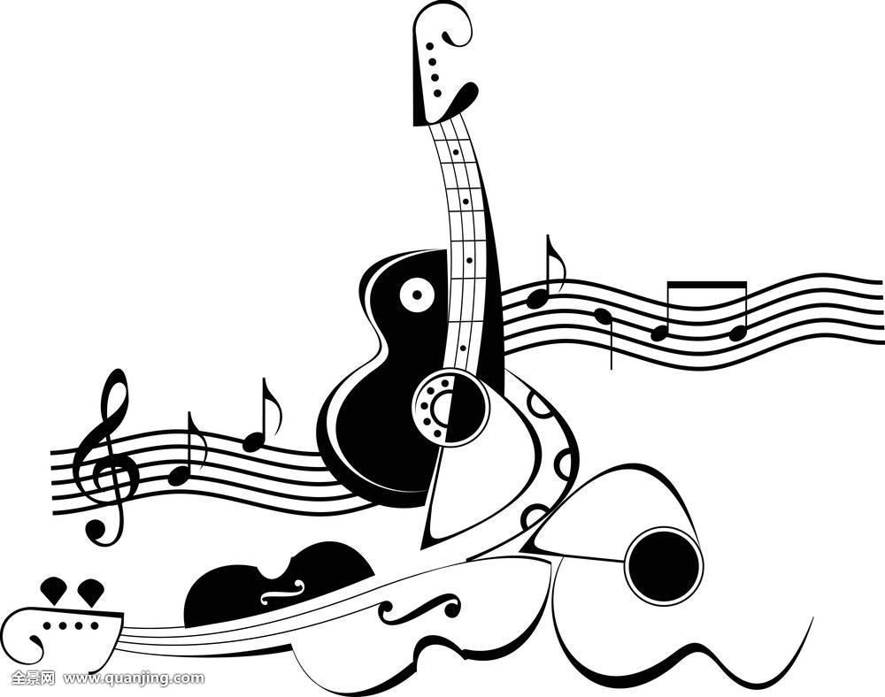 乐器,音符,图像,插画,小提琴,音乐,器具,管弦乐,五线谱,弦乐器,纹身图片