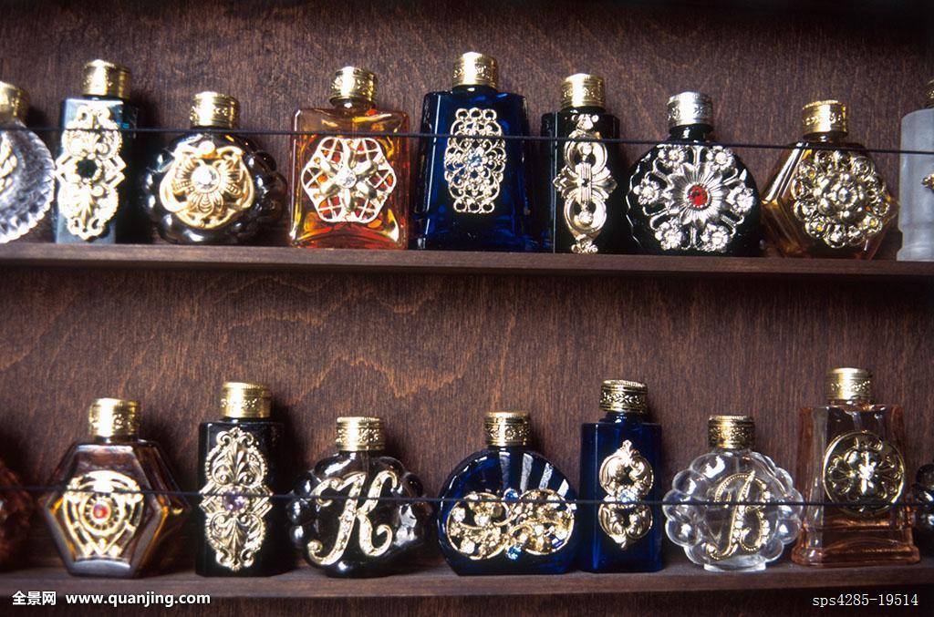 瓶子,装饰,独特,欧洲,艺术,玻璃器皿,精确,捷克共和国,布拉格,创意,工图片