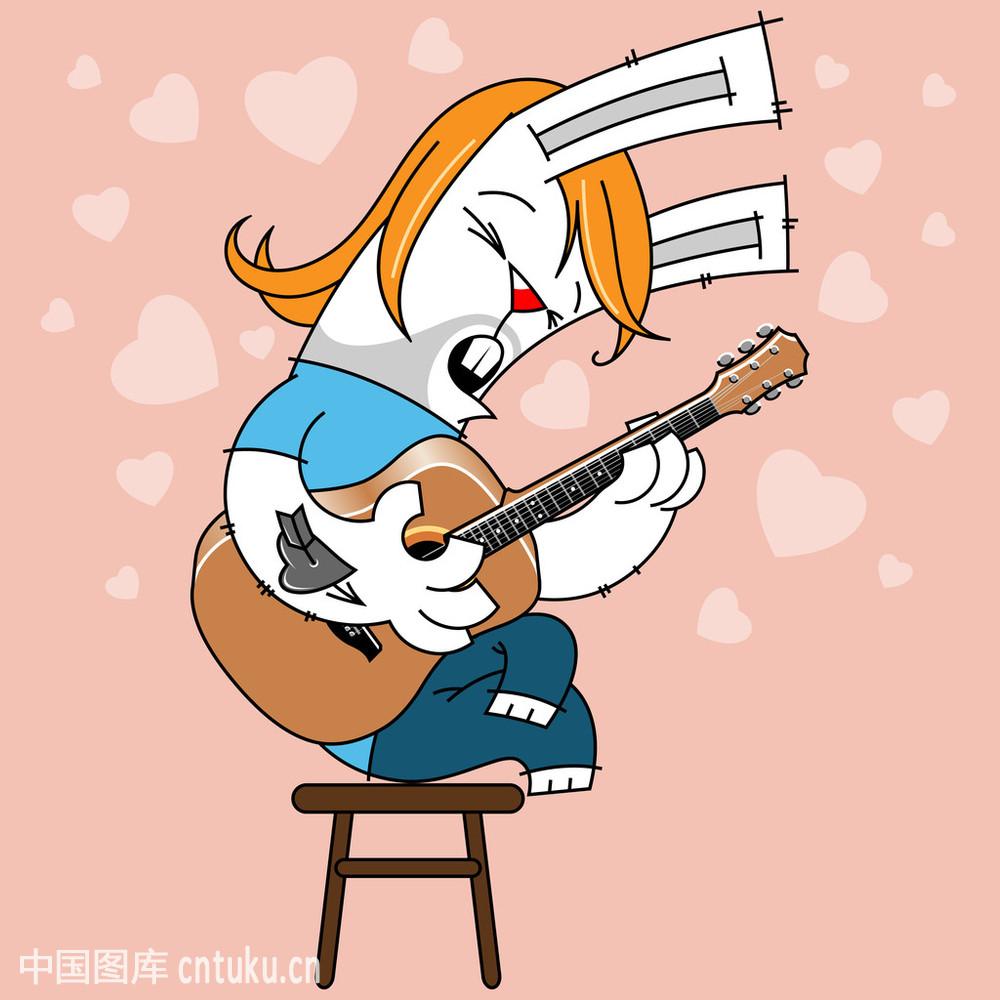 头发图表岩石艺术家音乐音乐人猪鬃唱歌粉红色大胡子兔子
