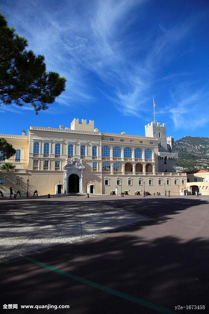 王子,宫殿,皇宫,摩纳哥,地中海,欧洲图片