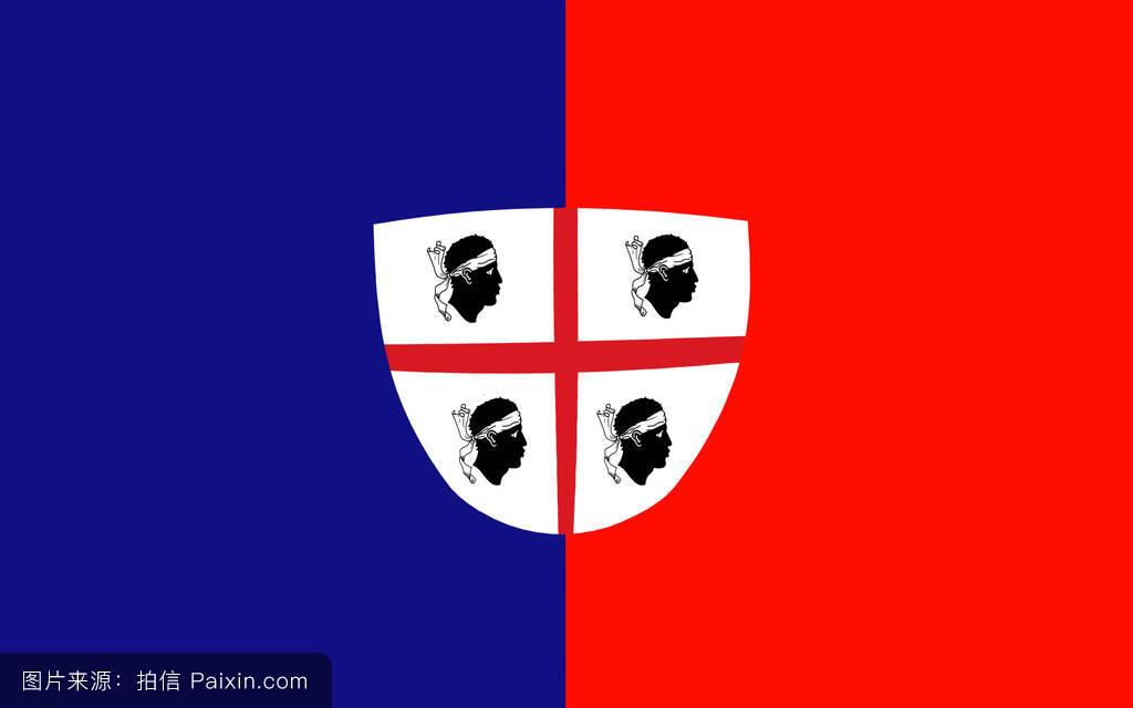奥躜���g����.���/_奥里斯塔诺,国家,旗帜,欧洲的,符号,撒丁,萨萨里,共和,意大利,标志性