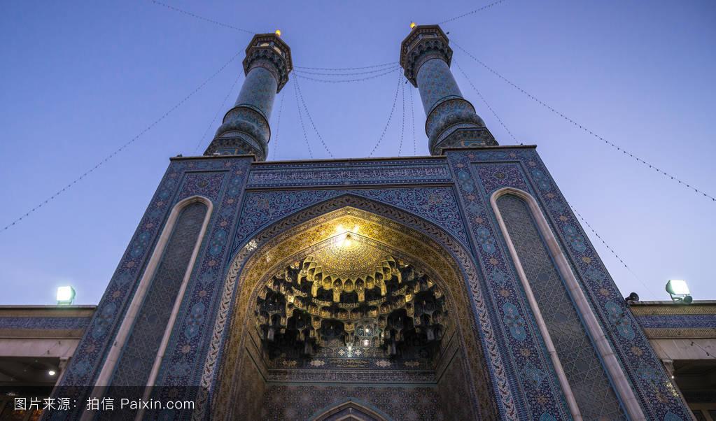 茹..�/ey�h�g*9.+yf�zh���m���y����%9�$_ghom,圣地,瓦片,伊朗伊斯兰共和国,masume,艾masumah,旅行的目的地