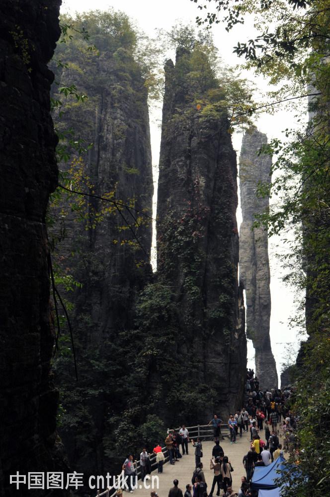 湖北民院到恩施大峡谷_非都市风光,旅行,山,自然,自然风景,陡峭的,湖北,壮观,恩施大峡谷,大