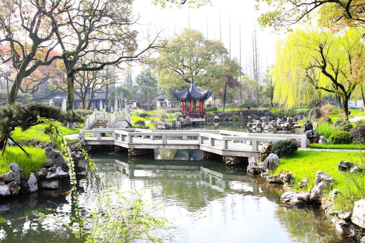 杭州西湖,柳莺里酒店,杭州柳莺酒店,江南名园,江南园林风格,别墅式图片