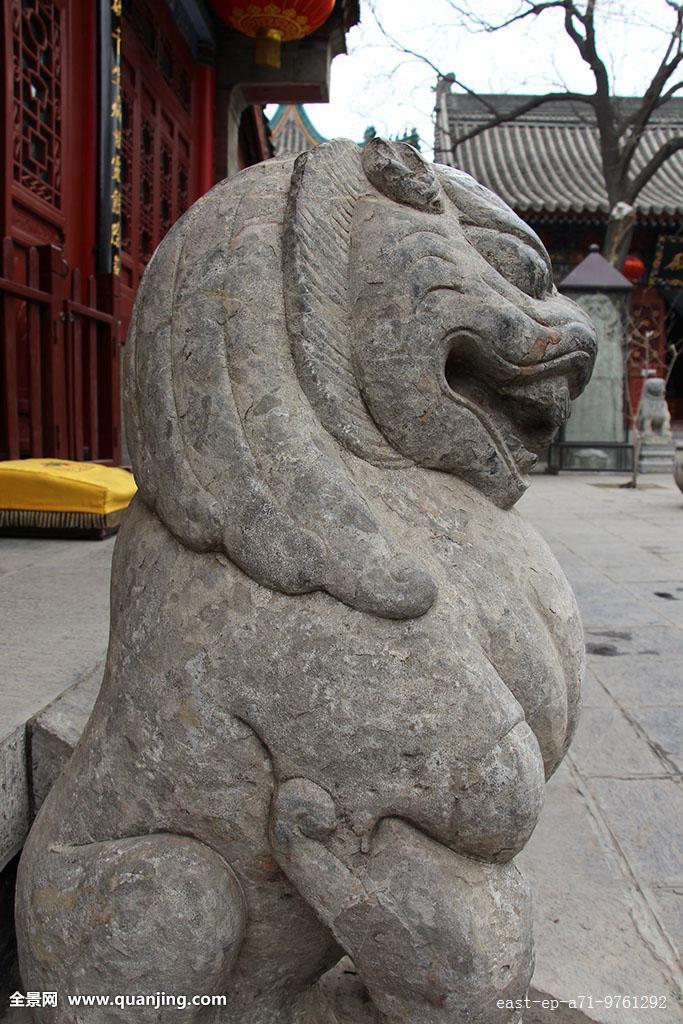 西安的石狮子图片