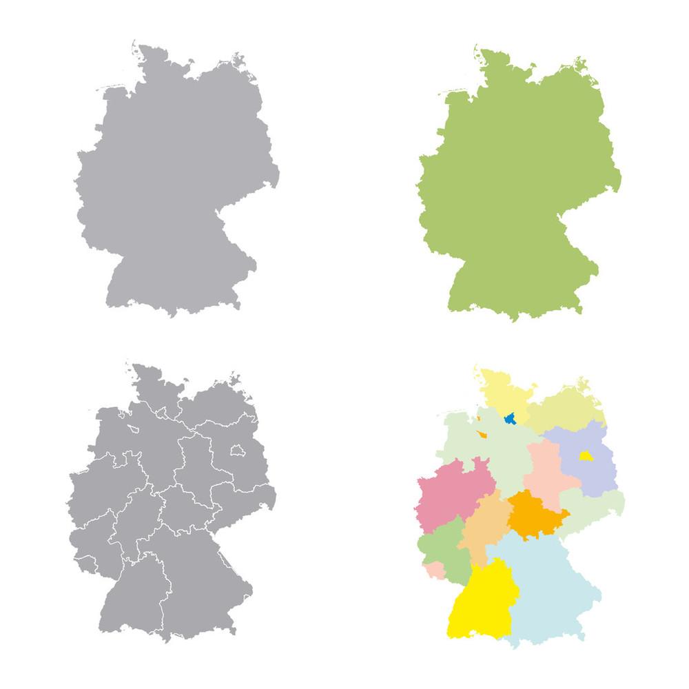 标志,材料,城市,抽象拼贴画,德国,地图,黑色,灰色,会议,欧洲,矢量图图片