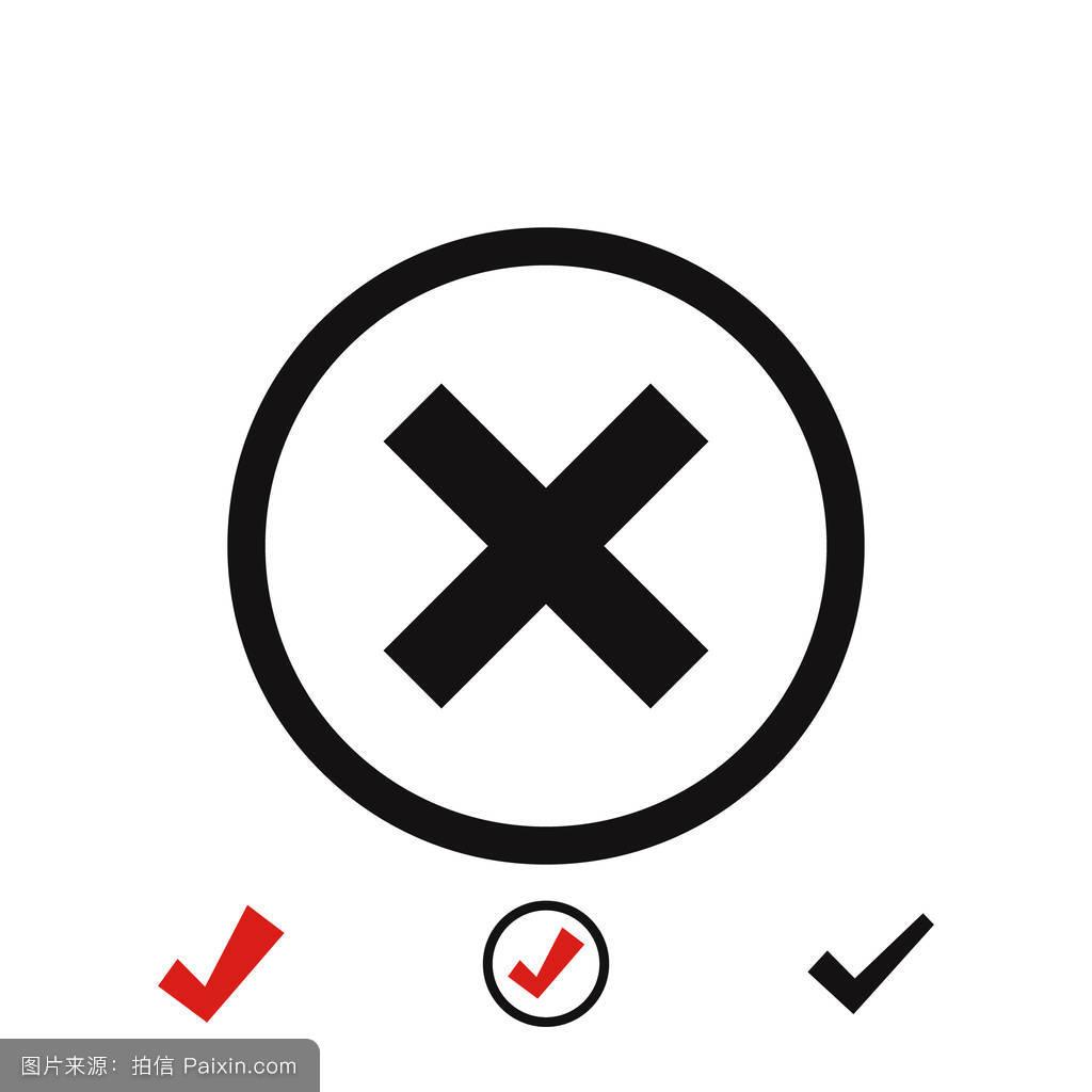 按钮,不,删除,白色,签名,设计,钥匙,作记号,交叉,背景,工具,偶像,关闭图片