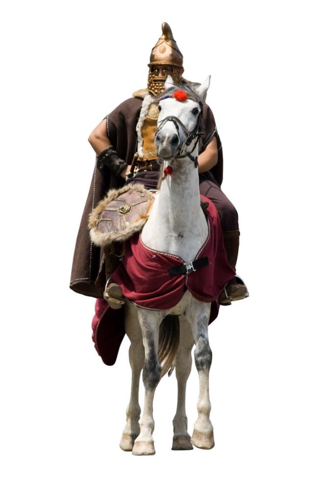 武士粤�_古代的骑士
