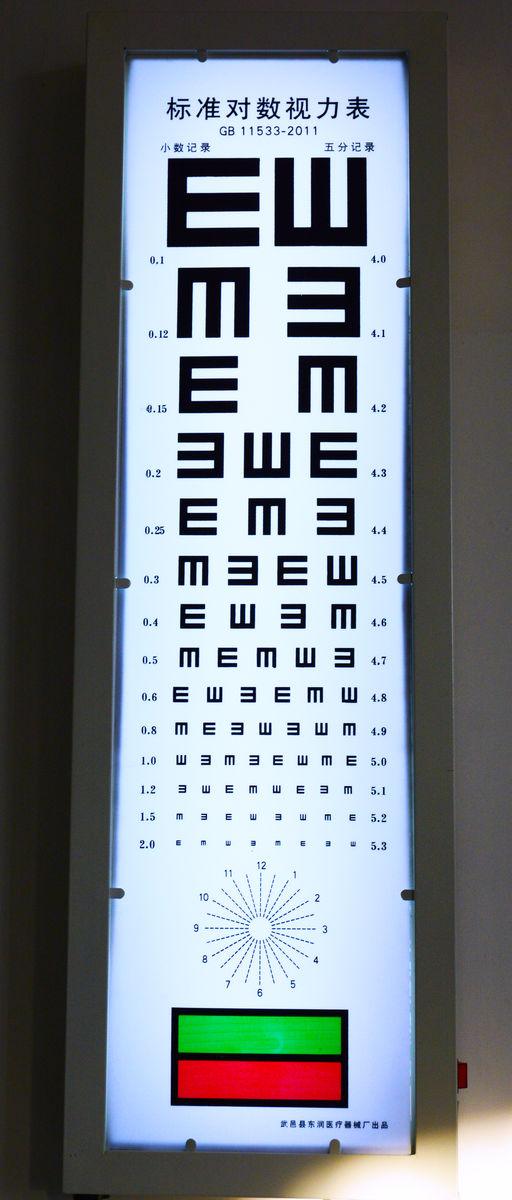 谁能教教我环空视力表 C字表 体检时有什么技巧啊 我还差0.1才合格