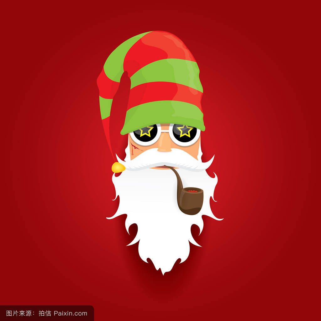 小�y..�h�9h�z/�y�a�f�x�_矢量摇滚乐圣诞老人