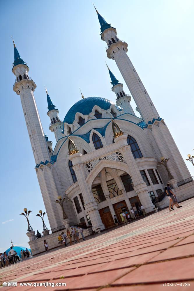 户外,著名,文化遗产,历史,伊斯兰,克里姆林宫,尖塔,纪念建筑,穆斯林图片